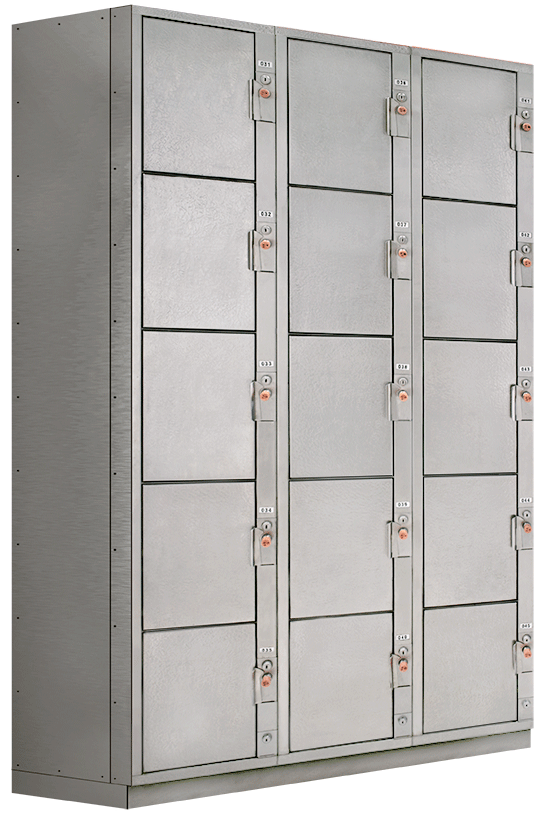 Tiburon's Stainless Steel Lockers